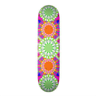 Kids Sports Girl s Pink Green Skateboard Deck