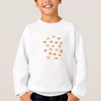 Kids' sweatshirt with pumpkins
