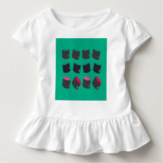 Kids tee with sushis
