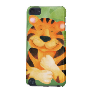 Kids tiger face ipod touch case
