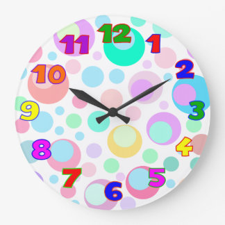 kids wall clock,kids room large clock