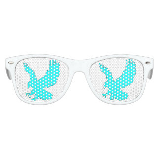 Kids Wayfarer Party Shades, White