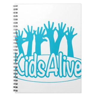 KidsAlive Logo Notebooks