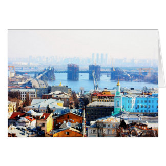 Kiev bussines and industrIal city Card