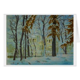 KIEV WINTER Greeting Card
