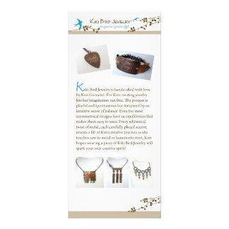 Kiki Bird Jewelry Rack Card