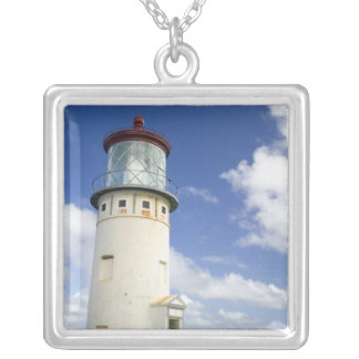 Kilauea Lighthouse Silver Plated Necklace