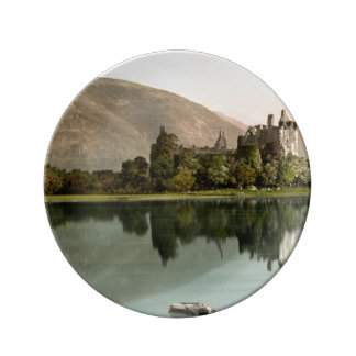 Kilchurn Castle, Argyll and Bute, Scotland Plate