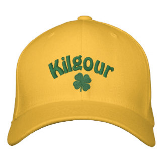 Kilgour - Four Leaf Clover Embroidered Hats