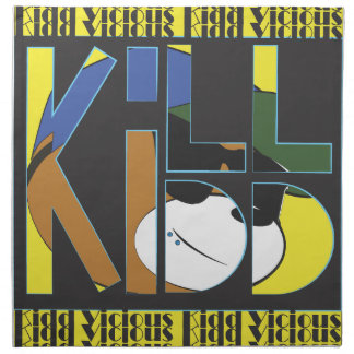Kill Kidd Printed Napkins