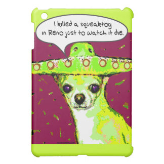 Killer Chihuahua iPad Mini Covers