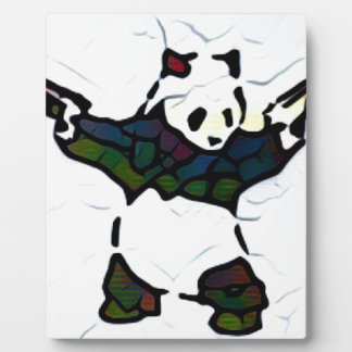 Killer Panda Plaque