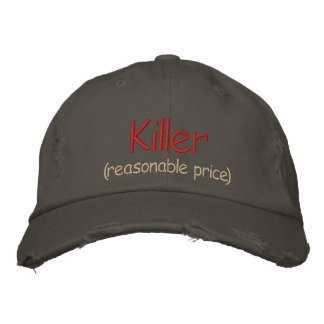 Killer (reasonable price) Cap Template Embroidered Hats