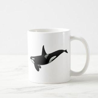Killer Whale Basic White Mug
