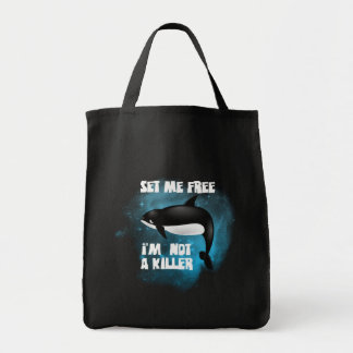 Killer Whale - Orca Grocery Tote Bag