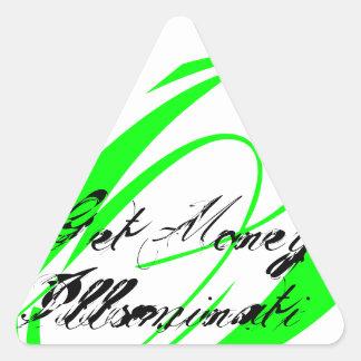 Killuminati Triangle Sticker