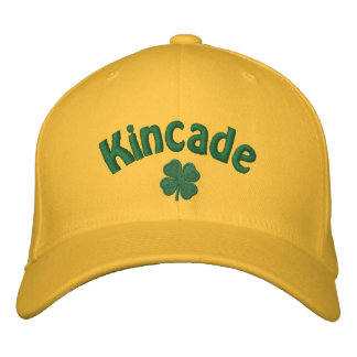 Kincade - Four Leaf Clover Embroidered Baseball Cap