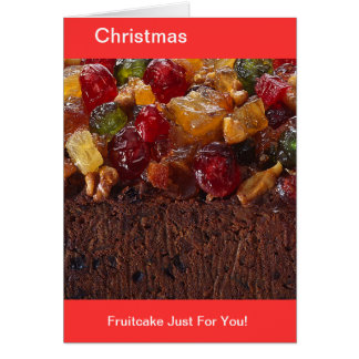 Kinda Fruity Fruitcake Card