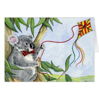 Kindi Koala greeting card