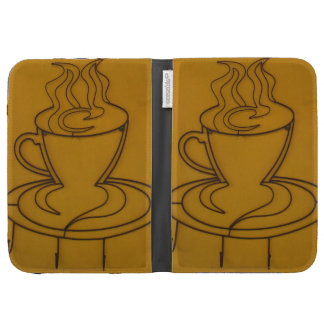 Kindle Sip, Relax Cup & You by Grassrootsdesigns4u Kindle Keyboard Case