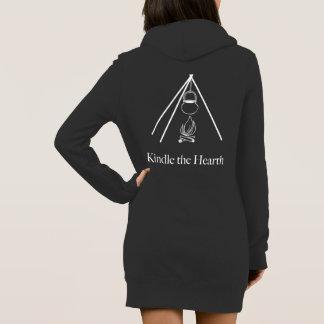 Kindle the Hearth hoodie dress