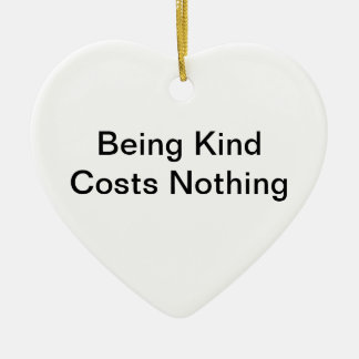 Kindness Ceramic Heart Decoration