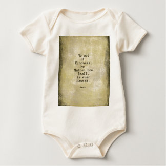 Kindness Compassion Quote Aesop Baby Bodysuit