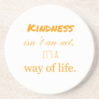 Kindness Drink Coaster