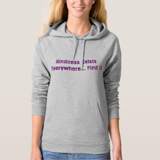 Kindness Hooded Pullovers