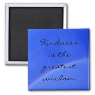 Kindness... Square Magnet