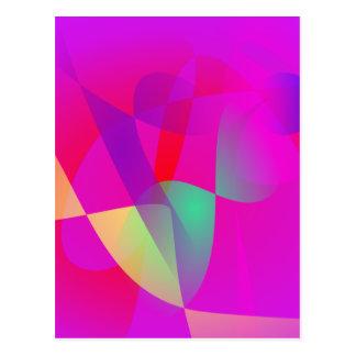 Kinetics Vivid Pink Post Card