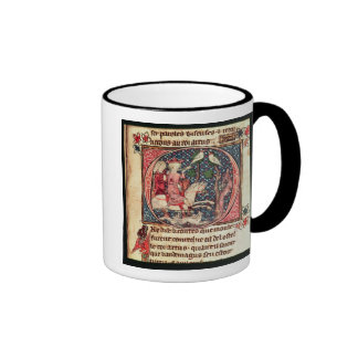 King Arthur Hunting, from the 'Romance of Merlin' Mugs
