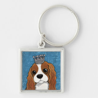 King Charles Spaniel | Dog Art Key Ring