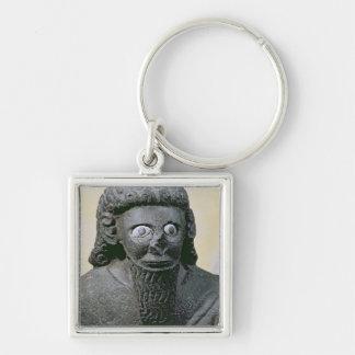 King Hadad, from the Palace at Tell-Halaf, Syria Key Ring