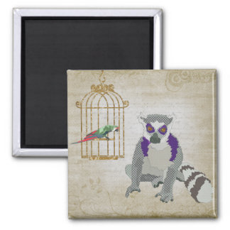 King Julian & Molly Macaw Magnet