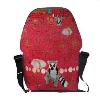 King Jullian Red Dawn Messenger Bag