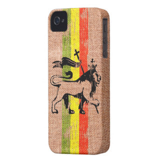 King lion iPhone 4 cover