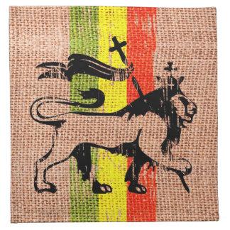 King lion napkin