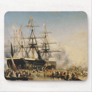 King Louis-Philippe  Disembarking at Mouse Pad