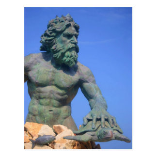 King Neptune by Shirley Taylor Postcard