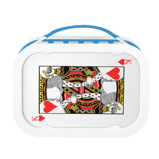 King of Hearts - Add Your Image Lunchboxes