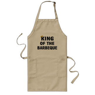 """King of the Barbeque"" Apron"