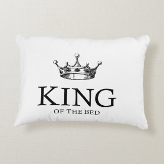 King Of The Bed Decorative Cushion
