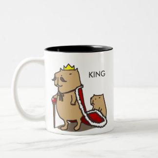 King of the capybara. Mug