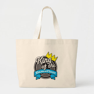 King of the Dancefloor Large Tote Bag