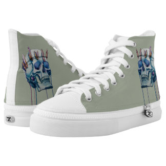 king of the ice printed shoes
