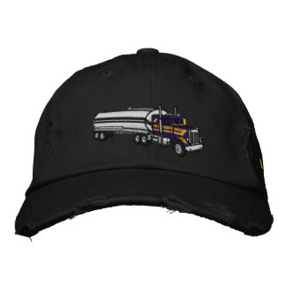 King of the Road with personalized name Embroidered Baseball Caps