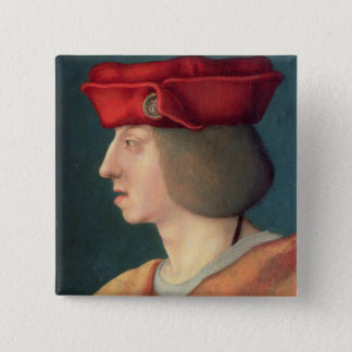King Philip I `The Handsome' of Spain 15 Cm Square Badge