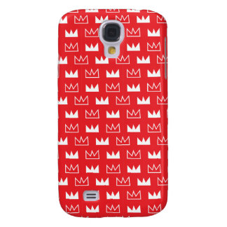 King Queen Diva Red Crown Galaxy S4 Case