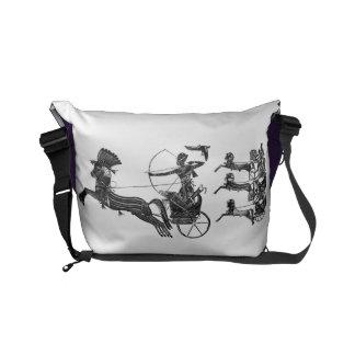 King Ramesses n Sons Commuter Travel Messenger Bag